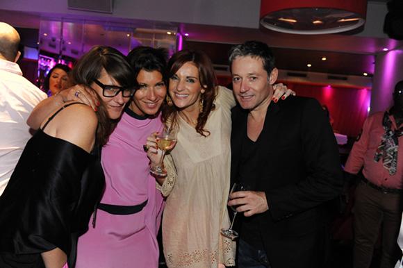 66. Cécile, Delphine, Sophie et Christophe
