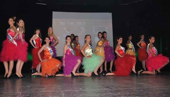 7. Les candidates de Miss Lyon 2013