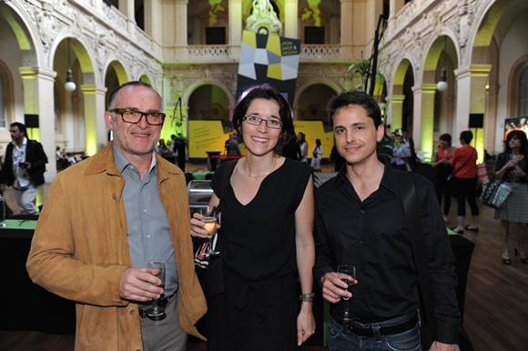 7. Alain Meyet (Sonepar le Mat' Electrique), Delphine Masure (Form-E-Sens) et Julien Fumat (Fumat architecture)