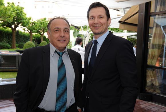 8. Hervé Corcos (Groupe Funny Boys) et Stéphane Albrègue (Ferrari)