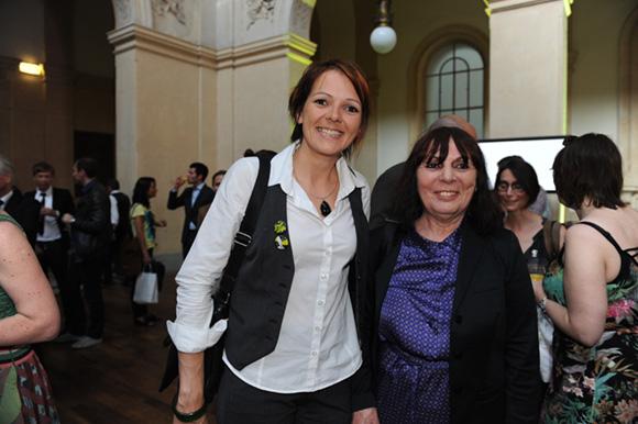 8. Marilyne Genevrier (Elle Tonic Circuit) et Nadine Gelas vice-présidente du Grand Lyon