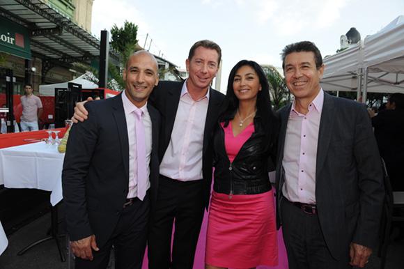 8. Habib, Jean-Pierre, Sam et Jean-Pierre