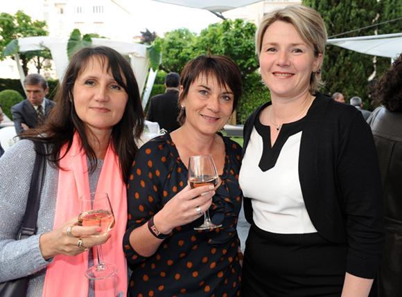 9. Nathalie Bernard et Véronique Lahousse (PWC), Valérie Kern (Warwick Reine Astrid)
