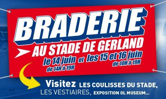 Braderie OL au stade de Gerland !