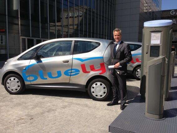 BlueLy. Vincent Bolloré au secours de l'autopartage à Lyon
