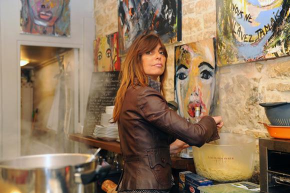 Oracle de Rome. Sandrine Paccalet épate la galerie