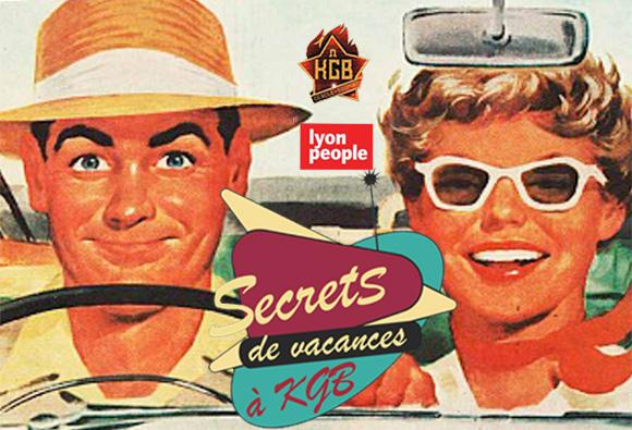 Secrets de vacances à KGB avec Lyon People