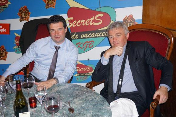 Franck Morize et Jean-Louis Joly. Secrets de vacances à KGB