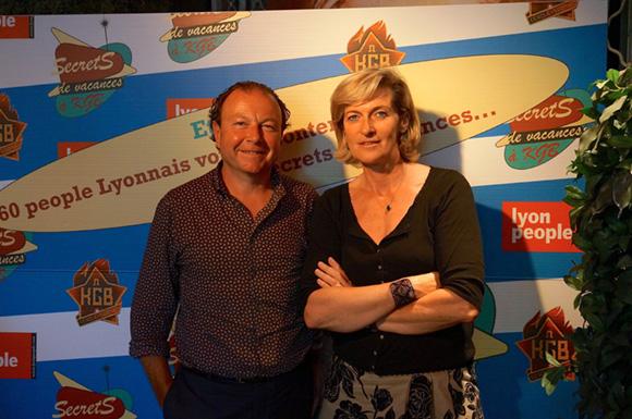Blandine Peillon et Jacques Chalvin. Secrets de vacances à KGB