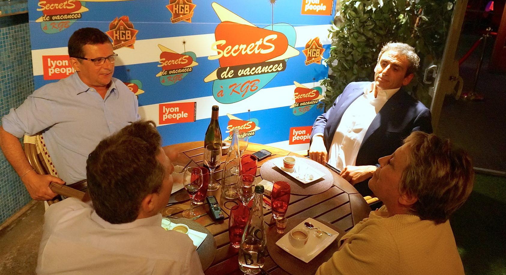 Silvio Iacovino et Eric Giraud. Secrets de vacances à KGB