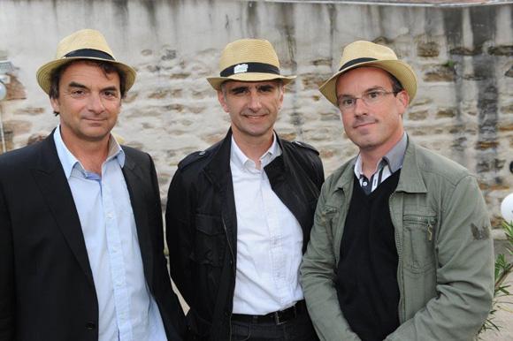 11. Norbert Fontanel (Fontanel), Joseph Mangiacotti (Simap) et Damien Buffeteau (Fontanel)