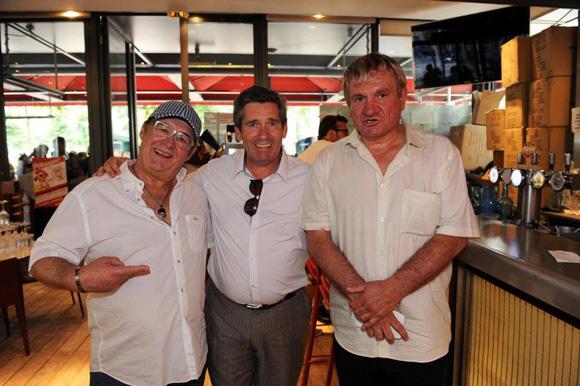 11. Guy Bardel, Henri Junique et Philippe Vial