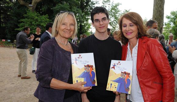 12. Jocelyne Vidal (Club de la Presse), Yann Damezin et Françoise Petit (Dodo)