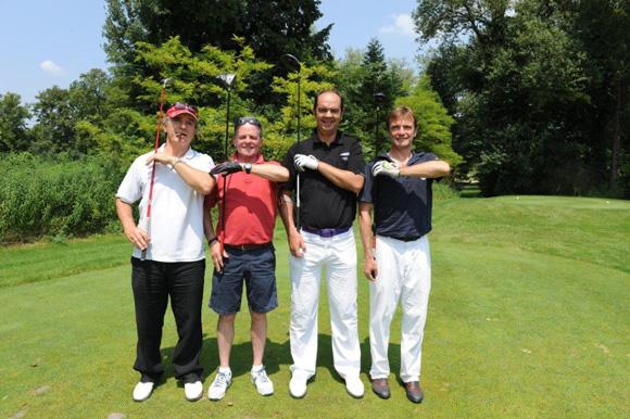 12. Patrick Aubry, Franck Avazeri, Benoît Licour et Jean-Marc Feuillas