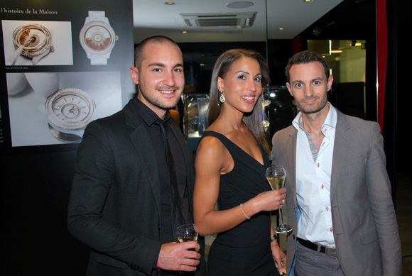 1. Maxime Bahri (TNT Express France), Sandra Bettin (Boutique Rolex) et Julien Marland (CCLD recrutements)