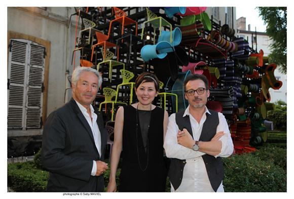 13. Iwan Ponsonnet, architecte (Xanadu), Gaëlle Caillens et son époux Didier (Wark Design)