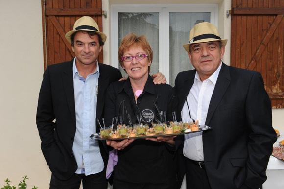 14. Norbert Fontanel (Fontanel), Corinne Champion et Michel Jovanovic (TJBAT)
