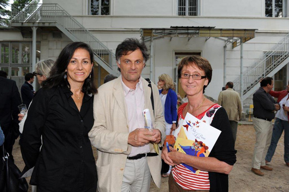 15. Françoise Estienne (EDF), Gilles Salgas (Areva) et Christine Morandi (Le Progrès)