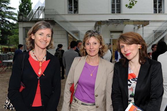 16. Blandine Vignon (CCI de Lyon), Marie-André Dontenville (LCL) et Elisabeth Meyzen (CCI du Beaujolais)
