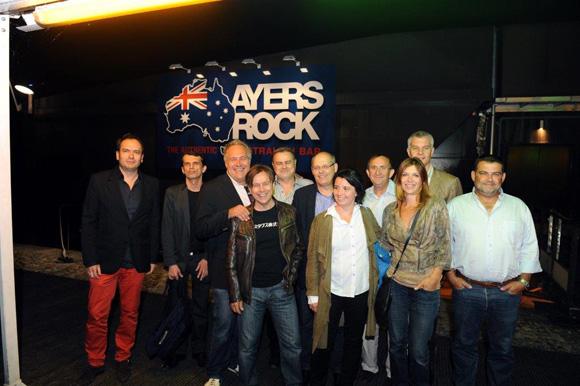 16. Premier établissement visité : l'Ayers Rock