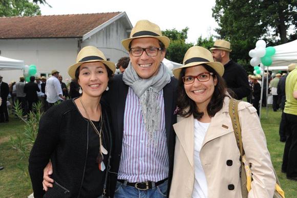 16. Emilie Hiairrassary (Alfa), Alexandre Guillaume (Erai) et Christiane Servin