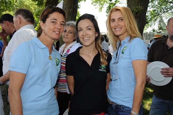 18. Vinciane Neyret (Le Petit Monde), Gaëlle Viegas (Média Sport Promotion) et Christine Dubost-Hocquart