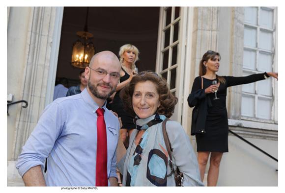 18. Maximilien Durand (Musée des Tissus et Musée des Arts Décoratifs) et Brigitte Honegger (Fly On & TGV Mag)