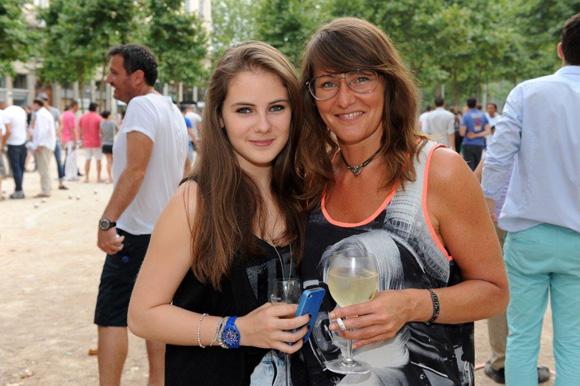 18. Salomé et sa maman Cécile Verget