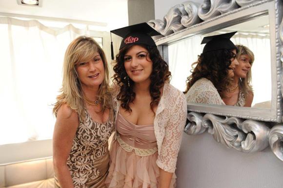 19. Gabriela Pardo et sa fille Elsa