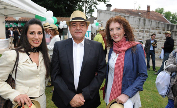 19. Yasmina Zaabi (Assemblée de la diaspora serbe du sud de la France), Michel Jovanovic (TJBAT) et Branka Pierre-Louis (Hôtel Charme et Business à Limonest)