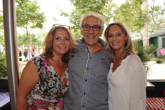 2. Sandrine Perrot, Albert Dray (Café du Pond) et Catherine Ricard