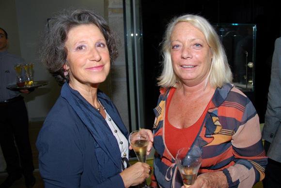 21. Martine Basbayon (Banque Rhône-Alpes) et Isabelle Pigeon (Hôpital Mermoz)