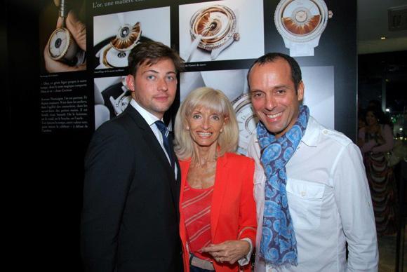 22. Albin Allais (Dior), Marie-Annick Berube (Boutique Dior) et son époux François
