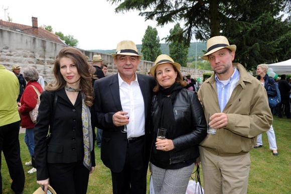 22. Mimica Radojevic, consul de Serbie, Michel Jovanovic (TJBAT), Maître Marie-Josèphe Laurent (Brumm) et Maître Dominique Joly (Cabinet Dominique Joly)