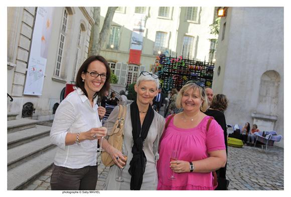 23. Valérie Moreteau, Christine Le Chenadec (CCI de Lyon) et Catherine Martin Weber (CCI de Région Rhône-Alpes)