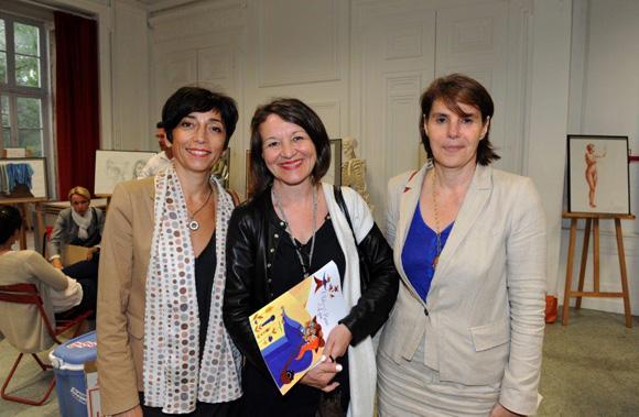 23. Carole Barbier (BASF), Nadine Castellani (Orange) et Sophie Suc (Kem One)