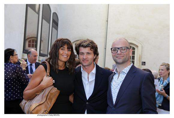 24. Nathalie Imart, Nicolas son époux (Moroso) et Christian Tomadini (Moroso)
