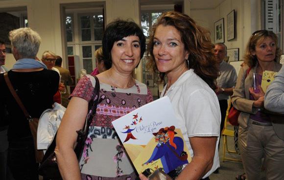 24. Isabelle Brione (Le Progrès) et Nathalie Mermet (Téchnoscope)