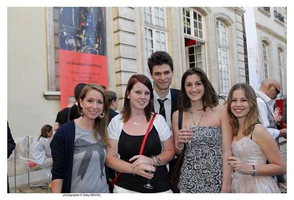 26. Céline Patay, Elodie Galindo, Nicolas Preda (BNP-Paribas), Laura Varagnat et Chloé Rolland