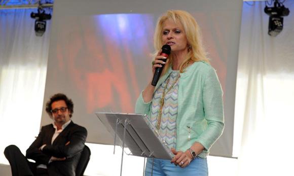 26. Sandrine Simon, marraine de la 43ème promotion