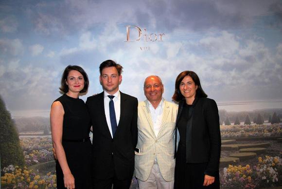 26. Jean Louis Maier et l'équipe Dior