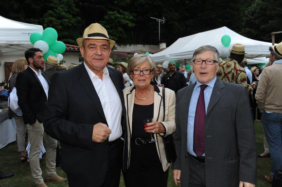 26. Michel Jovanovic (TJBAT), Françoise et Jean-Jacques David, maire du 6ème