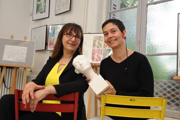 2. Aïcha Bezzayer et Hélie Becot (CitéCréation)