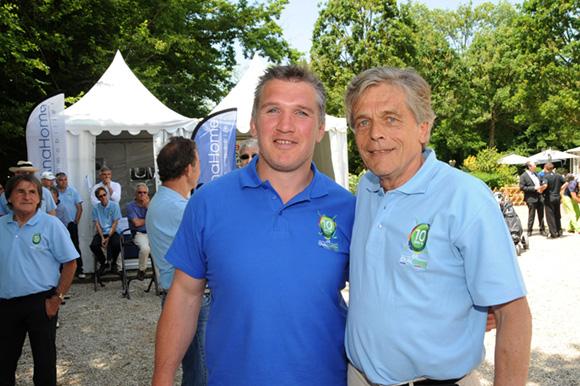 29. Sylvain Marconnet et Eric Rostagnat (GL Events)