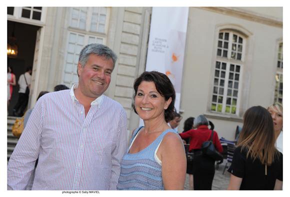 29. Philippe Pelevet et son épouse Annie