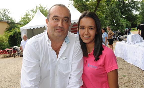 3. Pierre Nallet (AnaHome Immobilier) et sa fille Brune