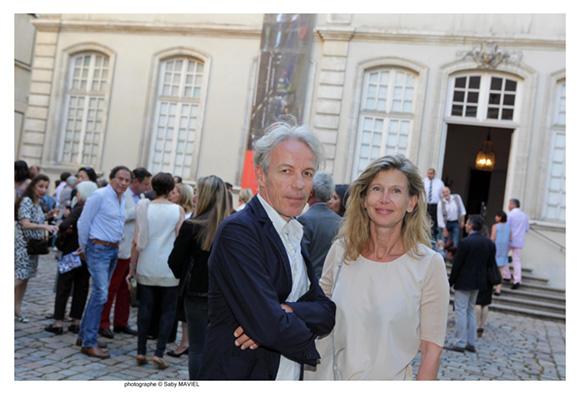 30. Jean-Yves Arrivetz, architecte, son épouse Fabienne
