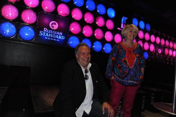 30. Laurent Duc et Nathalie Pradines sur le dance floor du First