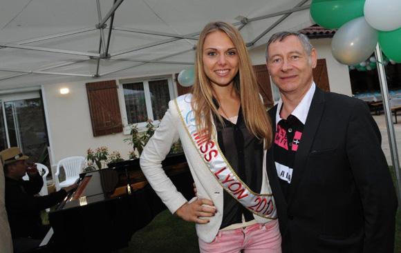 30. Célie Laporte, Miss Lyon 2013 et Pascal Armata (Comité Miss Lyon)