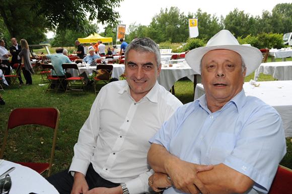 31. Michel Chenevat (Eiffage) et Léandre Borbon (LOU Rugby)